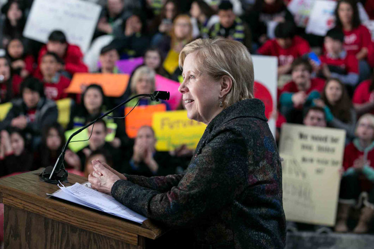 Washington state Community and Technical Colleges Student Rally